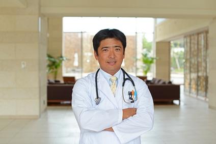 高収入な医者の男性