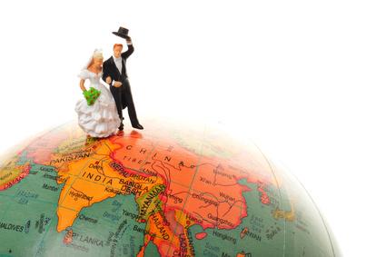 国際結婚したい人