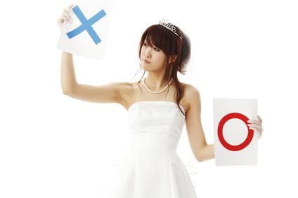 失恋、結婚の条件、花嫁