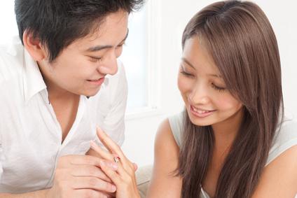 プロポーズ、指輪