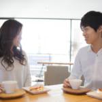 カフェ、初デート