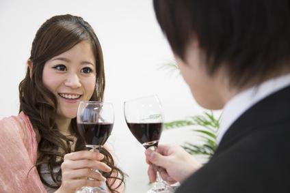 恋する女性、婚活パーティー