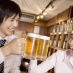 ビール、デート