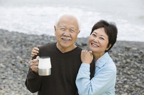 老夫婦のカップル