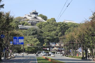 熊本、お城
