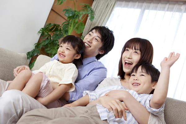 家族、シングルマザー、夫婦