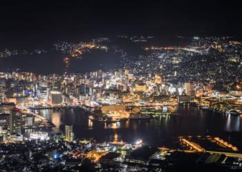 長崎、夜景