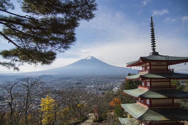 山梨県、富士山