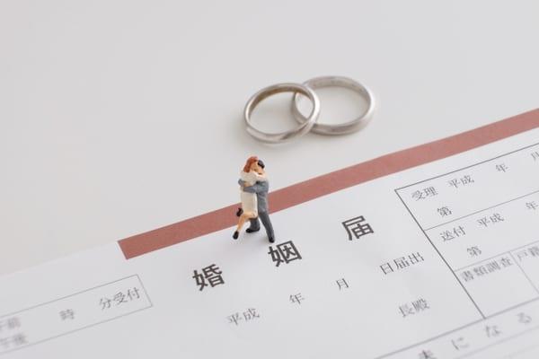 入籍、結婚
