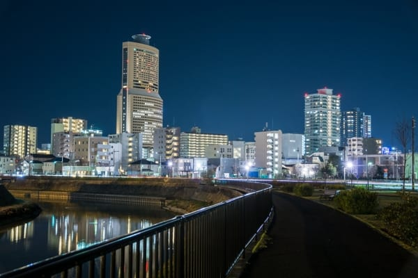 夜景、浜松