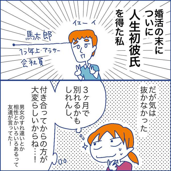 婚活漫画:年齢=彼氏いない歴喪女の婚活⑩【最終回】 | 出会い系 ...